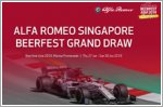 Exciting giveaways and contests by Alfa Romeo Singapore