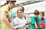 Students discover innovative Audi technologies at DigiCamp