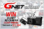 Gnet Giveaway - Car cameras worth up to $1,164 to be won!