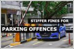 Stiffer fines for parking offences, such as tailgating at carparks, from 1 July