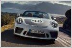 The launch of the all new Porsche 911 Speedster
