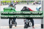 Food delivery firms take up third-party liability insurance