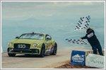 Bentley Continental GT breaks Pikes Peak Hill Climb record