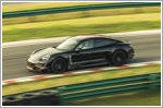 Porsche Taycan visits Shanghai at the Porsche Experience Centre