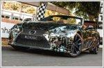 Lexus unveils LC Convertible prototype at Goodwood