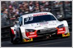 Rene Rast and Audi Sport Team Rosberg take first place at the DTM at Nuremberg