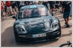 Porsche Taycan visits the Festival of Speed as part of the Triple Demo Run