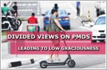 Divided views on PMDs leading to low graciousness on the road
