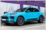 The new Porsche Macan meets Singapore's street art