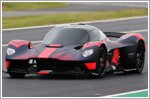 Aston Martin Valkyrie makes public debut at Silverstone