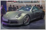 The brand new Porsche 911 launched in Singapore