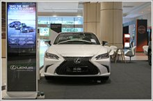 Discover Japanese luxury cars at Lexus roadshow