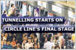 Tunnelling starts on Circle Line's final stage, existing line to be upgraded