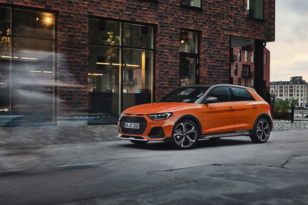 The New Audi A1 Citycarver At Home In Rough City Streets And On