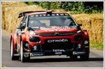 Citroen's C3 WRC returns to round nine of the season at Rally Finland