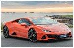 Lamborghini Avventura 2019 visits Norway's Lofoten islands