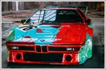 Photoshoot marks the 40th birthday of the BMW M1 designed by Andy Warhol