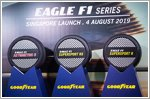 Goodyear launches its new range of Eagle F1 tyres in Singapore