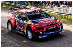 Citroen's flying Finns grab second place on home turf