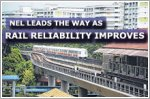 NEL leads the way as rail network reliability improves