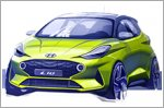 Hyundai Motor reveals first sketch of the new i10