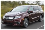 Honda celebrates 25 years of the Odyssey
