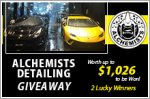 Alchemists Detailing Giveaway - Win paint protection packages worth up to $1,026