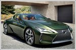 Limited edition 2020 Inspiration Series for the Lexus LC500