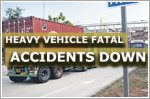 Fatal accidents involving heavy vehicles hit three-year low in 2018