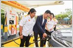 Shell launches Shell Recharge with electric vehicle charger at service stations