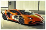 Lamborghini presents the Aventador S interpreted by the art of Skyler Grey
