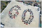 MINI Singapore celebrates 60 years of driving fun with '60' car formation