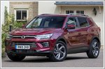 Ssangyong launches the new Korando SUV in the U.K.