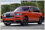Bespoke Cullinan delivered to famed collector