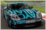 The Porsche Taycan sets record at the Nurburgring