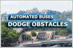 Automated buses dodge peacocks, tourists and plants in Singapore test