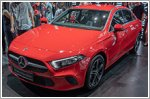 Mercedes A-Class Saloon launched in Singapore