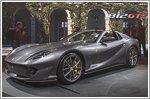 The world premiere of the brand new Ferrari 812 GTS