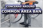 Cyclists and PMD users concerned over ban in common areas