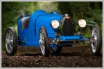 Bugatti Baby II revealed at the firm's 110th anniversary