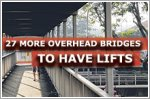 27 more overhead bridges to be installed with lifts: LTA