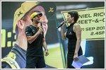 Renault hosts F1 Showcase with Daniel Ricciardo in attendance to meet fans