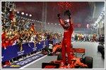 Vettel wins Singapore GP as Ferrari scores 1-2 finish