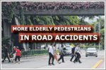 Road accidents involving pedestrians aged over 60 rose in first half of 2019