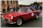 Cavalcade Classiche concludes with parade of vintage Ferraris through Rome