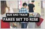 Bus, train fares to rise by 7%