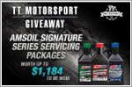 TT Motorsport Giveaway - Win servicing packages worth up to $1,184!