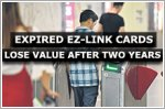 Expired ez-link cards lose value after two years