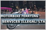 Motorbike ferrying services for hire illegal: LTA