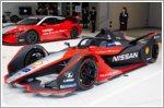 Nissan's Formula E race car gets a kimono-themed look